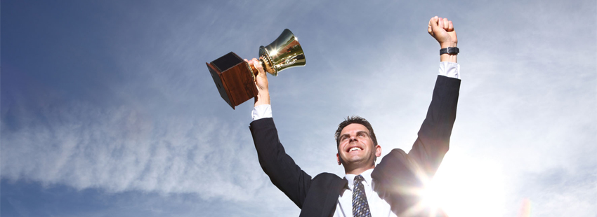 Business People Win Trophies, Too