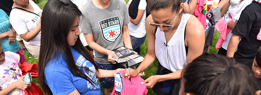 Good Sports Scores with CPS and Christen Press
