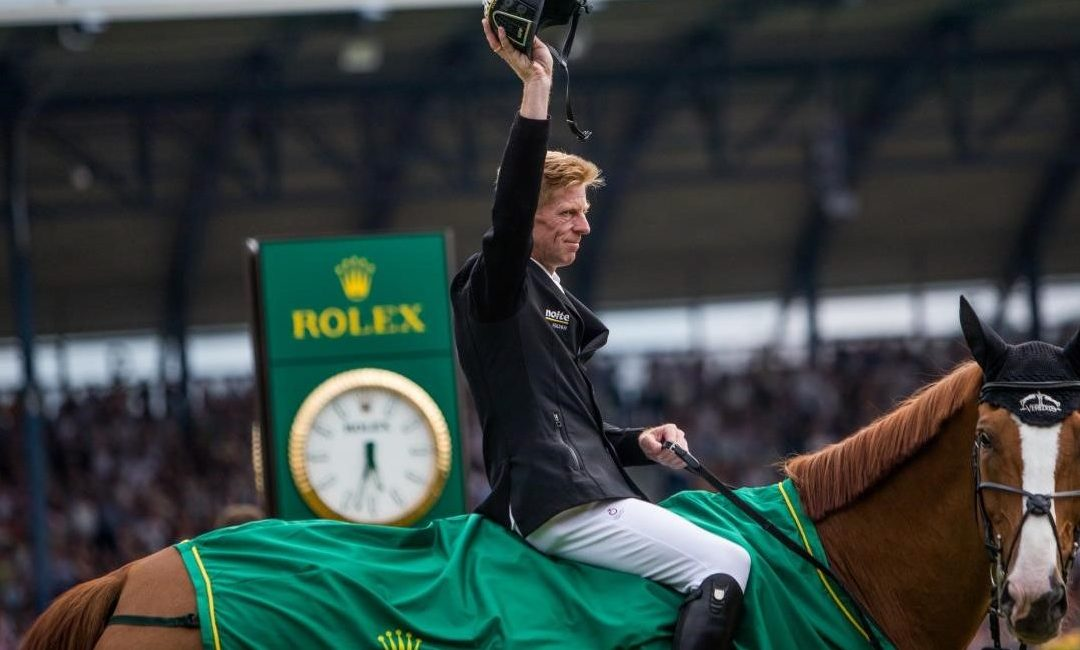 Marcus Ehning Claims Victory in the Rolex Grand Prix at Chio Aachen for the Second Time