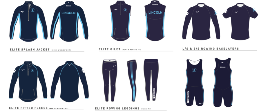 rEvolution Proudly Sponsors Lincoln College Rowing